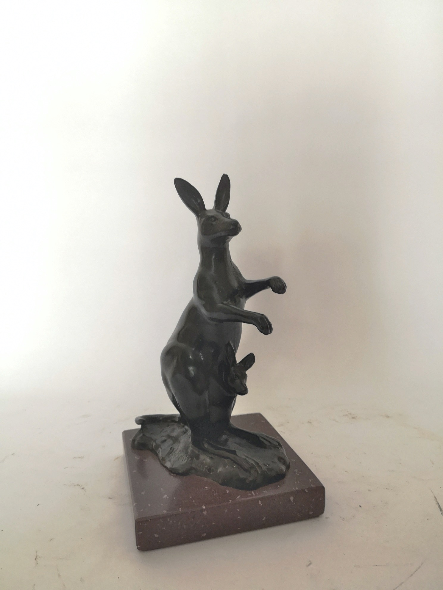 03a_Early 20th Century French Bronze Kangaroo By Henri Bouchard.jpg
