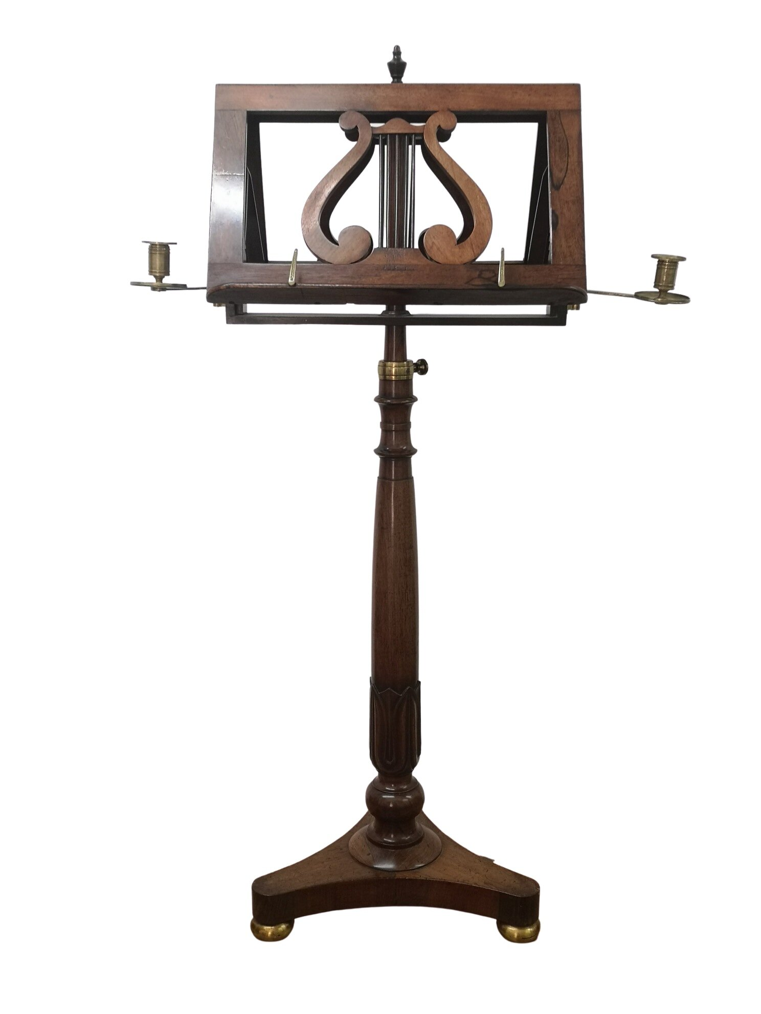 William IV English Rosewood Music Stand